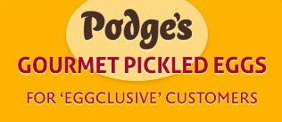 Podge's Pickled Eggs