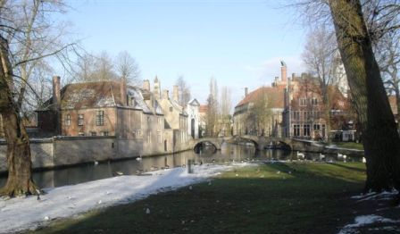 Bruges in the snow 2010
