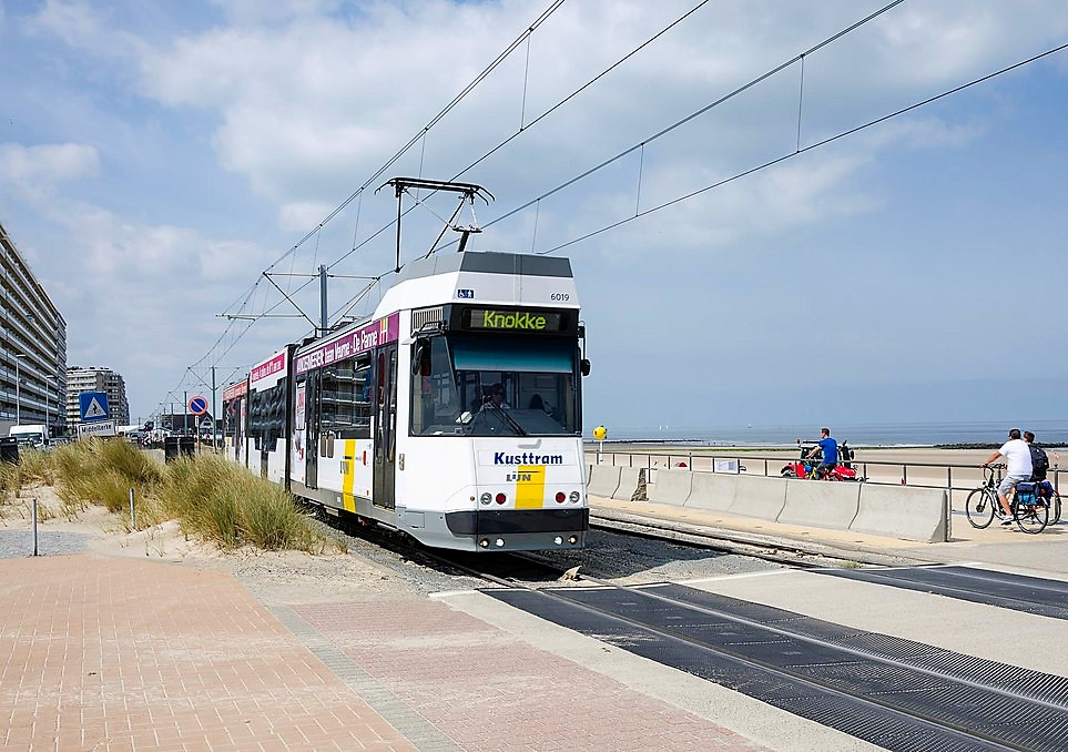 The Coastal Tram in Belgium - a great day out