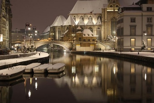 Gent in the snow, Gent Watertoerist
