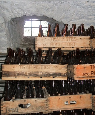 Rochefort Beer at the Abbey on a Podge Tour
