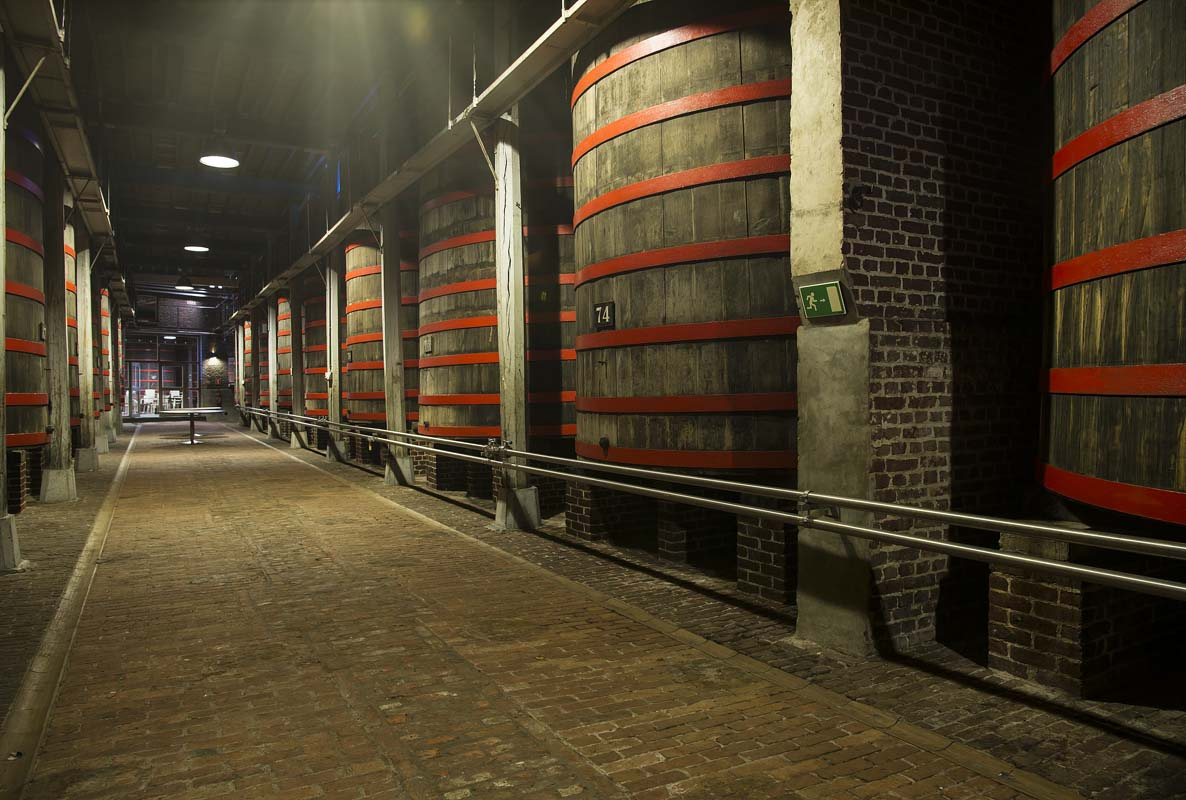 Rodenbach Brewery Foeders