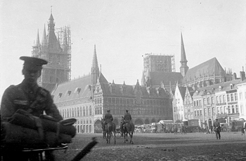 Ypres with soldier